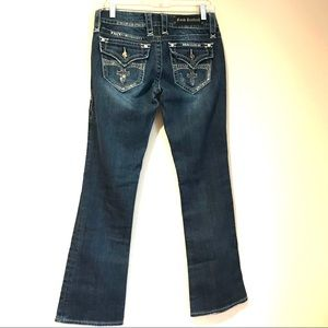 Rock Revival Celine Boot Cut Jeans with Bling